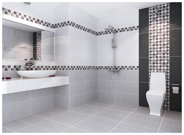 Vì sao nhiều người chọn gạch ốp nhà tắm Viglacera?