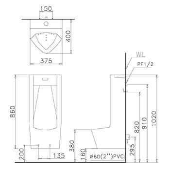Thông số kỹ thuật tiểu nam Caeasr U0283